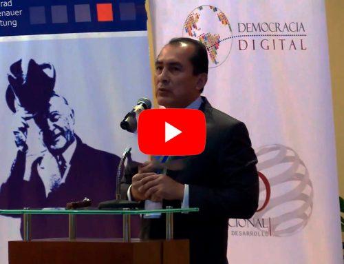 «Ojalá que clasifiquemos al mundial de la economía digital»Dennis Fernández, Vicepresidente de Estrategia de Telefónica del Perú