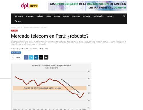 Mercado telecom en Perú: ¿robusto?DPL News