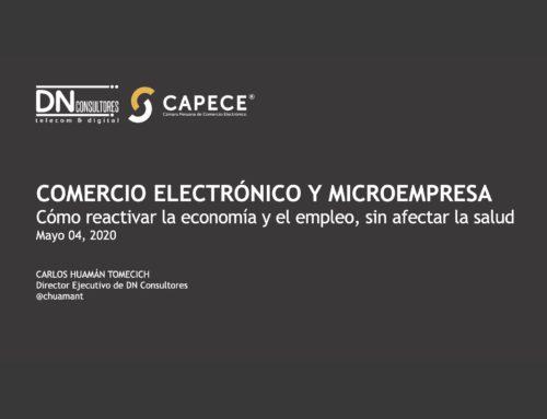 Comercio electrónico y microempresaCómo reactivar la economía y el empleo, sin afectar la salud