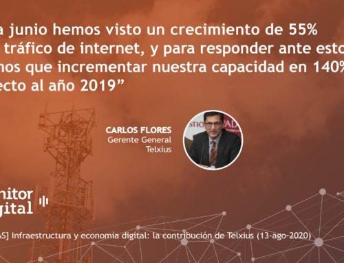 [EMPRESAS] Infraestructura y economía digital: la contribución de TelxiusMonitor Digital