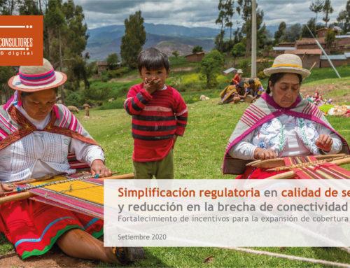 Impacto de la simplificación regulatoria en calidad de servicio sobre la reducción en la brecha de conectividad digitalUnidad de Estudios