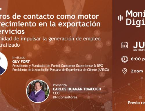[EMPRESAS] Centros de contacto como motor de crecimiento en la exportación de serviciosMonitor Digital