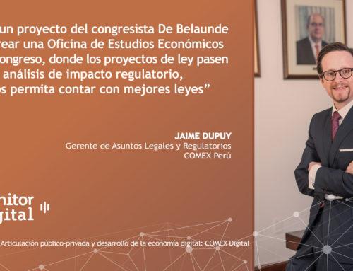 [EMPRESAS] Articulación público-privada y desarrollo de la economía digital: COMEX DigitalMonitor Digital