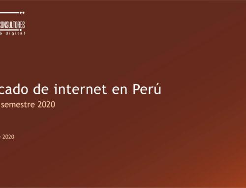Mercado de internet en PerúMonitor de Mercado