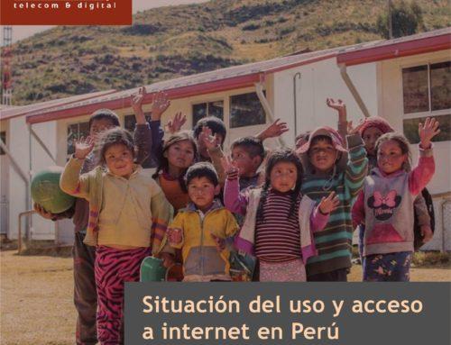 Situación del uso y acceso a internet en PerúTercer trimestre 2020