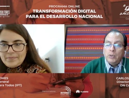 Entrevista a Teresa Gomes, Gerente General de Internet Para Todos (IPT)Programa TDDN