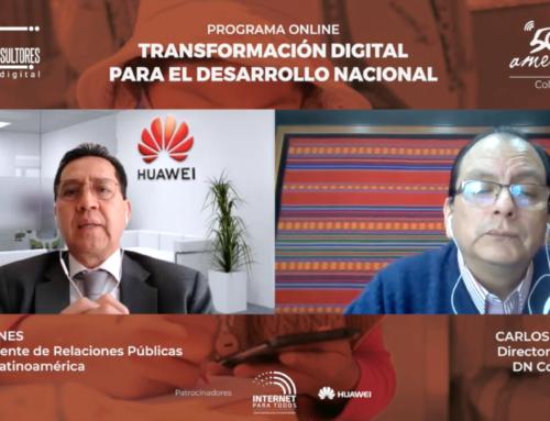 Entrevista a César Funes, Vicepresidente de Relaciones Públicas de HUAWEI LatinoaméricaPrograma TDDN