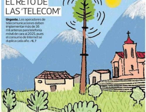Más antenas, el reto de las «telco»  Día 1